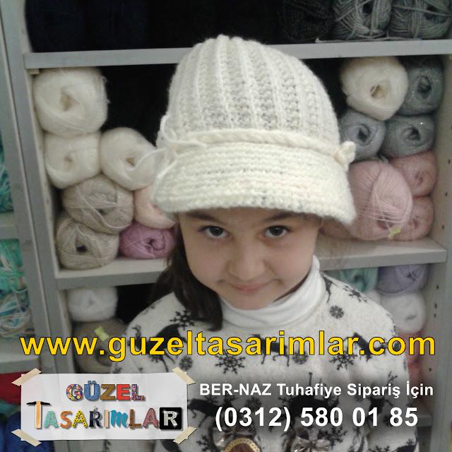 2016 Bere Şapka Örgü Modelleri