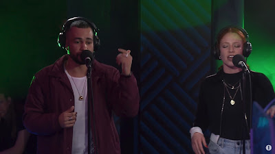 Rudimental - These Days ft Jess Glynne & Dan Caplen ( in the Live Lounge BBCR1 )