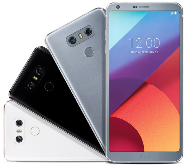 LG G6 Unveiled at MWC 2017, Boasts Full Vision Display and Google Assistant