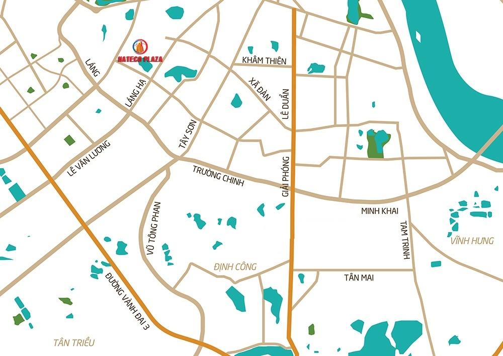 Vị trí chung cư Hateco Plaza