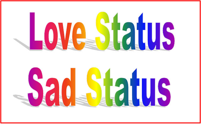 Love Status : Sad Status in Hindi