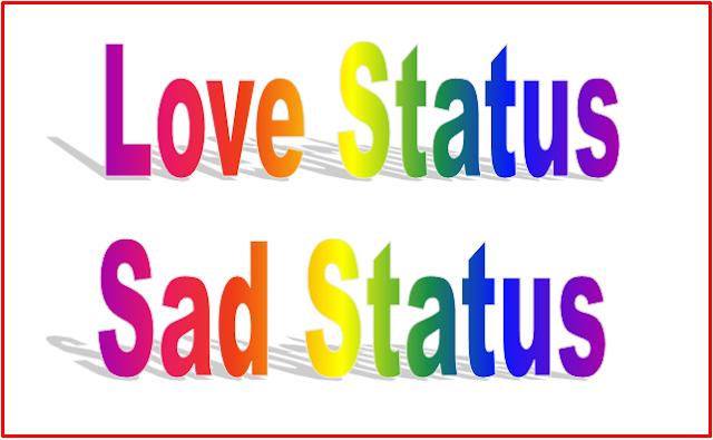 Love Status : Sad Status in Hindi