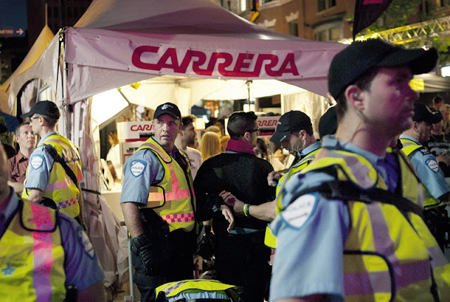 Festivités du grand prix, rue Crescent et de la Montagne, Montréal [photos David Champagne]