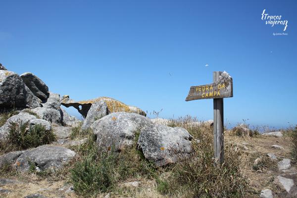 pedra da campa islas cies