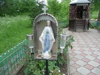 Кохавине. Святе джерело на місці явлення святого образу