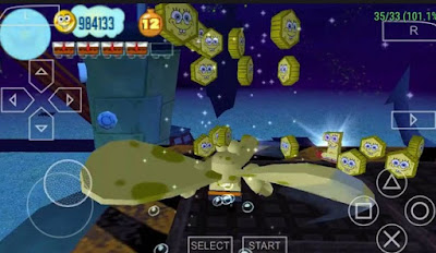 Download Spongebob Truth Or Square CSO PSP PPSSPP