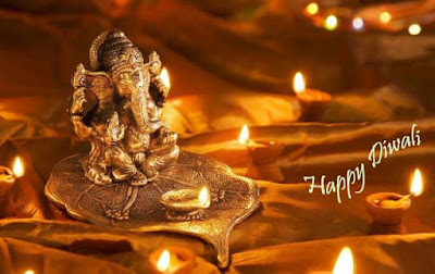 free-wallpaper-of-god-ganesha-for-diwali-dipavali