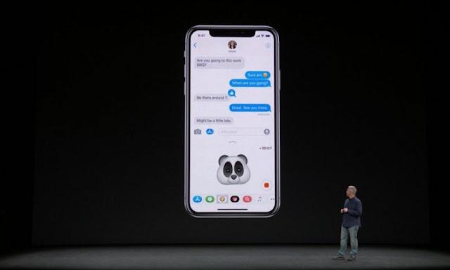 Apple Perkenalkan iPhone X Layar AMOLED