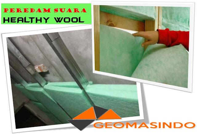 Tempat Distributor Peredam suara Healty wool  Terpercaya dengan Harga Jual bersaing di Indonesia