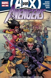 Cover of The Avengers 30 comic eBook