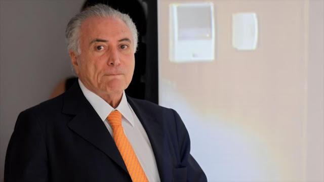 Temer bajo la mira del Máximo tribunal de Brasil por corrupción
