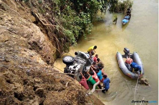 Korban Toyota Innova yang Terjun ke Sungai Kampar Bertambah