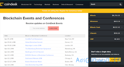 CoinDesk Events