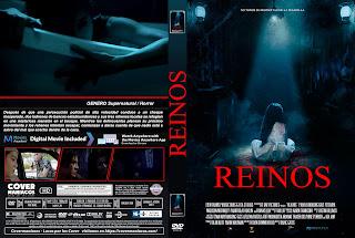 CARATULA realms - REINOS 2018 [ COVER DVD + BLURAY]