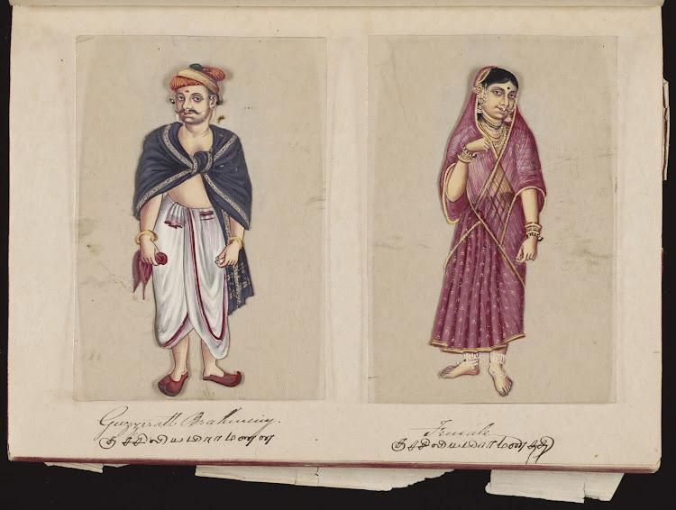 Gujrati Brahman and Female