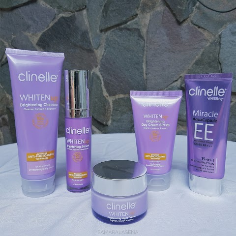 Clinelle Whiten Up Series Review