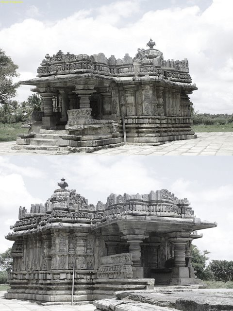 Sri Nagareshwara and Chennakeshava Temple, Mosale