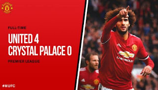 Manchester United vs Crystal Palace 4-0