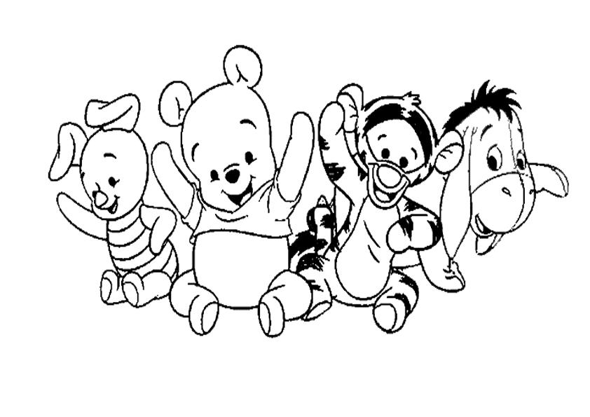 Blog MegaDiverso: Para imprimir y colorear a Winnie the Pooh