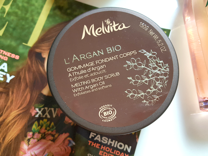 Melvita Sommer Wellness favoriten - Melvita L´ARGAN BIO Melting Body Scrub - 150g - 19.90 Euro