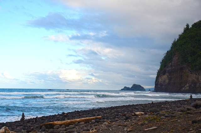 Pololu Beach, Big Island, Hawaii