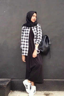 fashion hijab anak kampus model 3