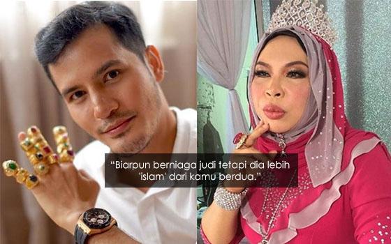 """""""Dato' Vida dan Dato' Aliff Patut Malu Dengan Tauke Judi"""""""