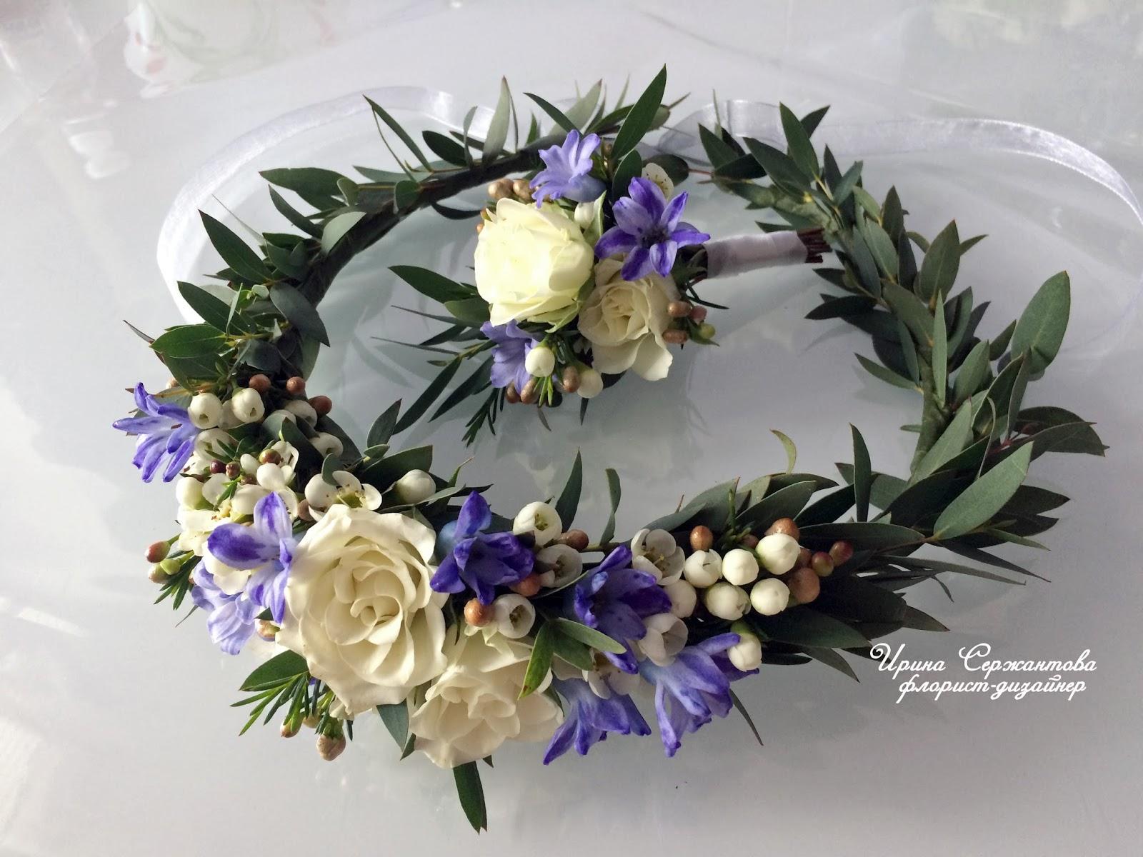 Обои корона из цветов, жених, невеста, свадьба. Настроения foto 7