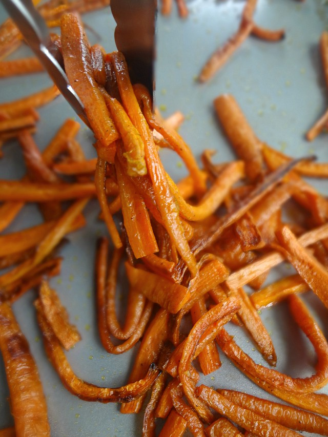Perfect Roasted Carrots
