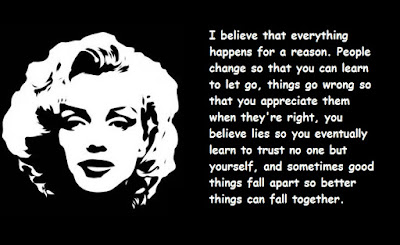"""Marilyn Monroe Quotes About Life"""