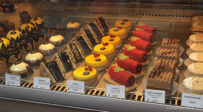 French patisserie in Puy en Velay