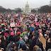 Mulheres realizam protestos nos EUA contra presidente Donald Trump