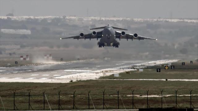 EEUU construye su tercera base aérea en Siria
