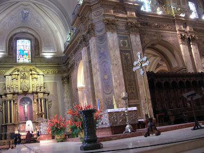 Interior Catedral Metropolitana, Buenos Aires, Argentina, vuelta al mundo, round the world, La vuelta al mundo de Asun y Ricardo