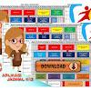 Aplikasi Jadwal Pelajaran Kurikulum 2013 Excel Gratis Untuk SD
