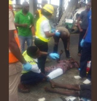 Sunday Morning Accident At Lekki Toll Gate, Lagos Leaves Many Badly Injured (Graphic Photos)
