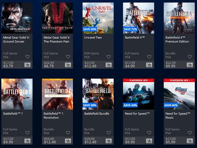 عروض تخفيضات رائعة تنطلق الأن على متجر PlayStation Store لألعاب بأقل من 13 دولار ..
