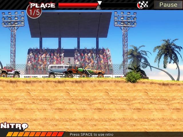 لعبة سباق سيارات مجنونه