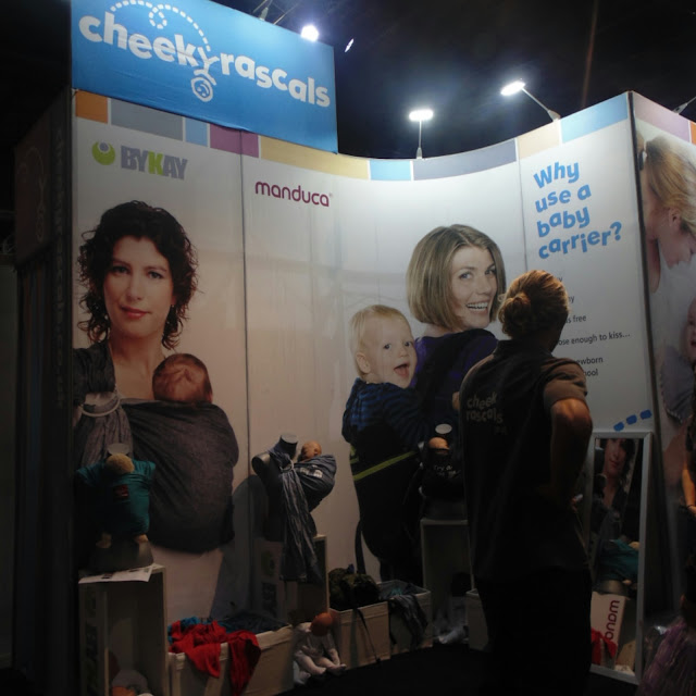 Cheeky rascals baby wearing,  baby and toddler show