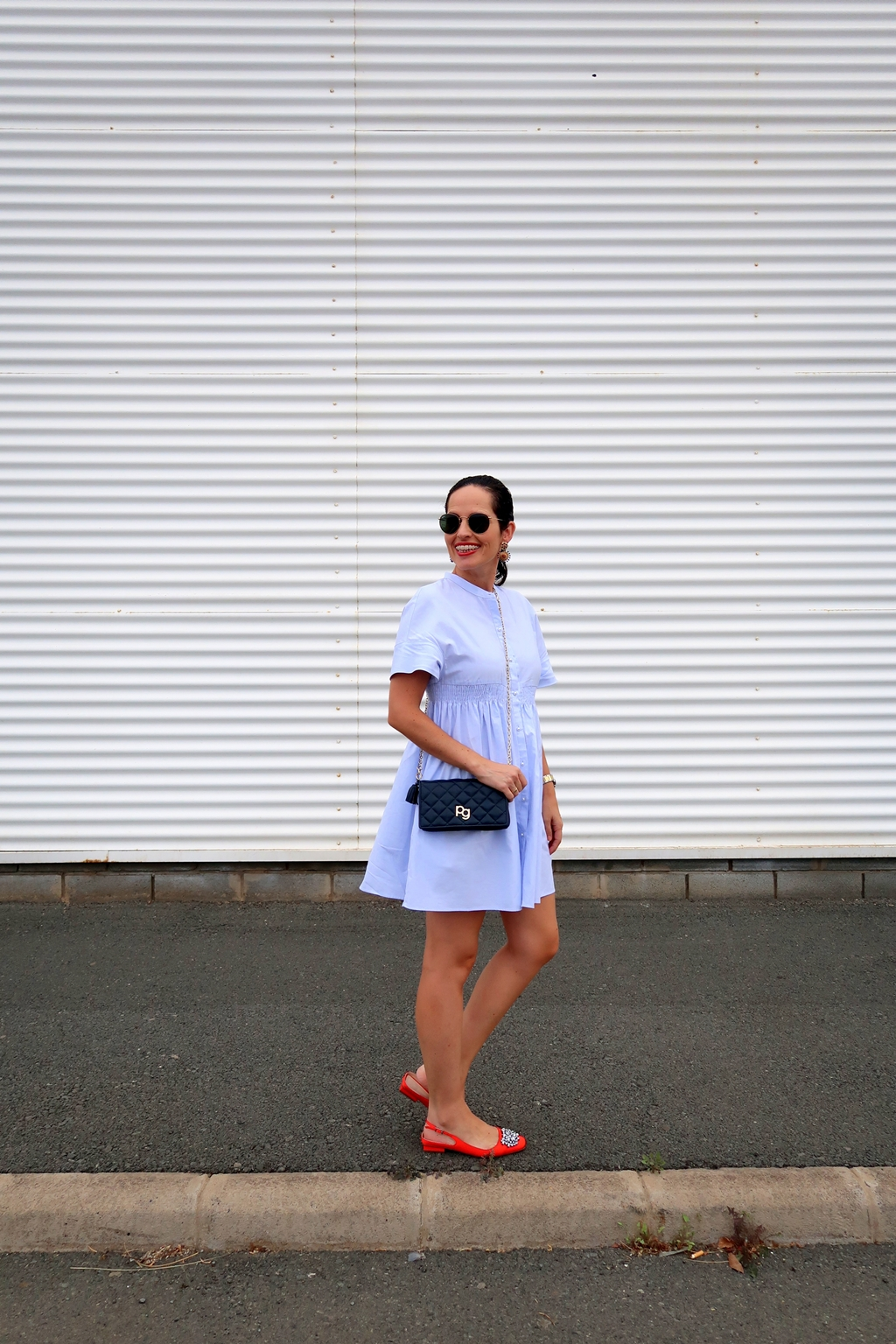 zara-blue-dress-outfit-personal-shopper