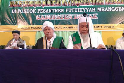 Tawajjuhan Akbar Ke-8 PP Futuhiyyah Mranggen Dihadiri Puluhan Ribu Jamaah