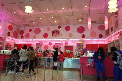 Pink Cafe at Universal Studios Japan Osaka