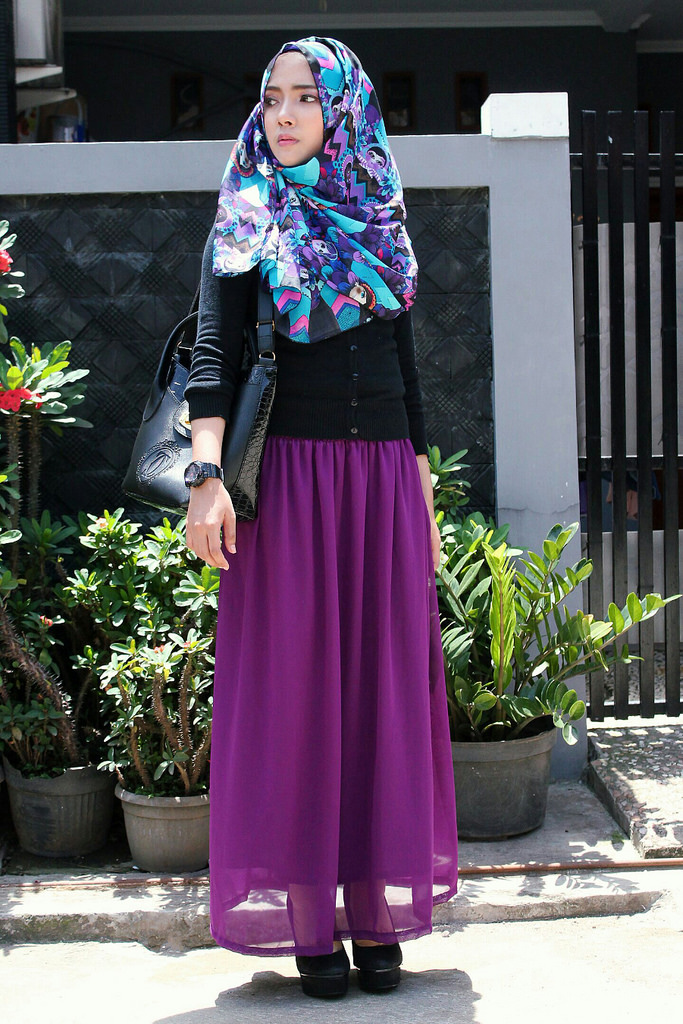 Model Hijab Street Style Ala Korea Buat Hijabers Pecinta K ...