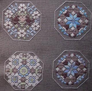 Схемы вышивки квакерских шаров