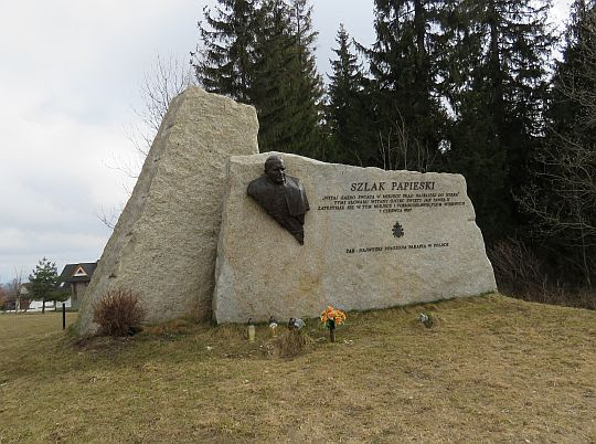 Obelisk na Eliaszówce.
