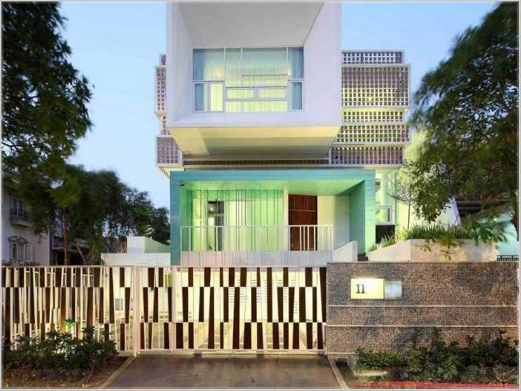 Galeri Pagar Rumah Mewah  info penting 34 galeri pagar minimalis