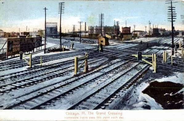 Industrial History: Railroad Crossing War and Grand Crossing