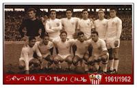 Resultado de imagen de sevilla fc año 1961