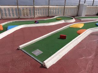 Mini Golf Aquarium in Lanzarote. Photo by Les Tubby, July 2018
