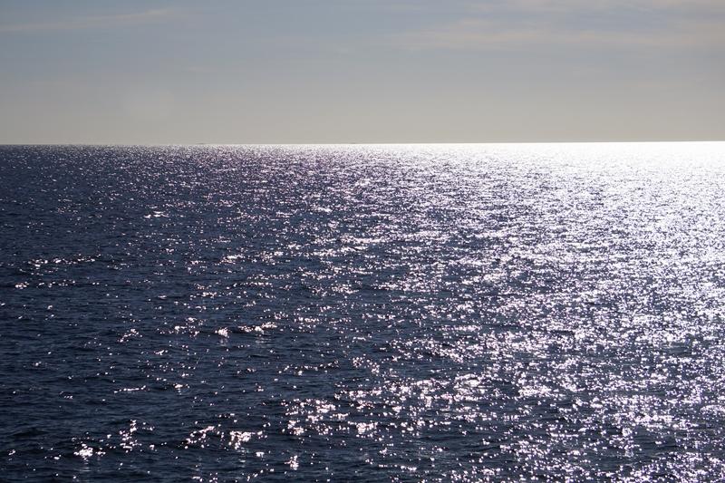 Meri, auringonsilta
